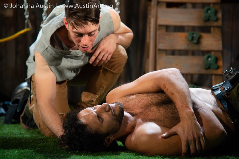 James Kern & Jeff Gorcyca in  warplay