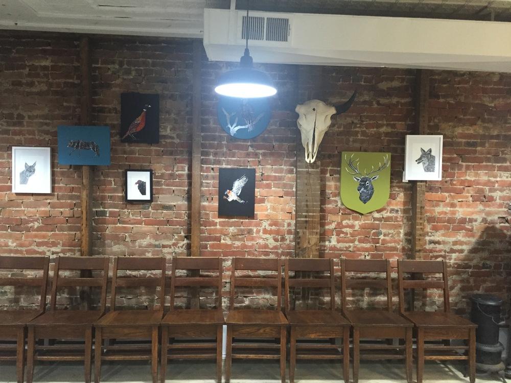 The art wall