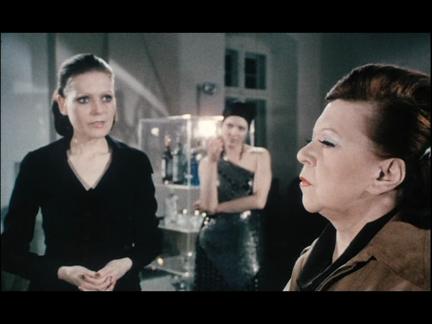 Margit Carstensen inChinese Roulette, dir. Rainer Werner Fassbinder, 1976