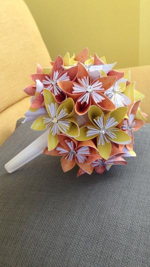 Small paper flower bouquet sale mightylinksfo
