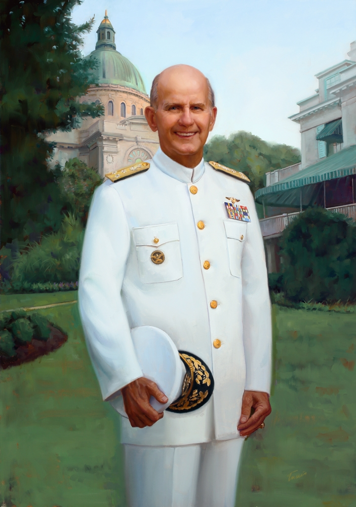 Vice Admiral John R. Ryan