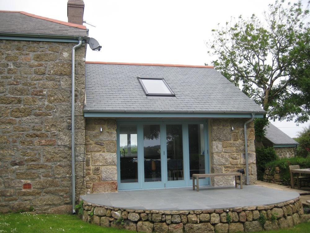 East cottage jonathan hosking design for Cottage extension designs
