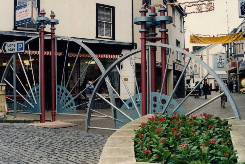 ST AUSTELL TOWN GATES
