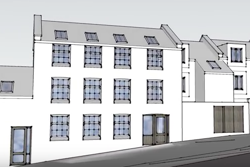 RESIDENTIAL RE-DEVELOPMENT OF HERITAGE SITE IN BRISTOL