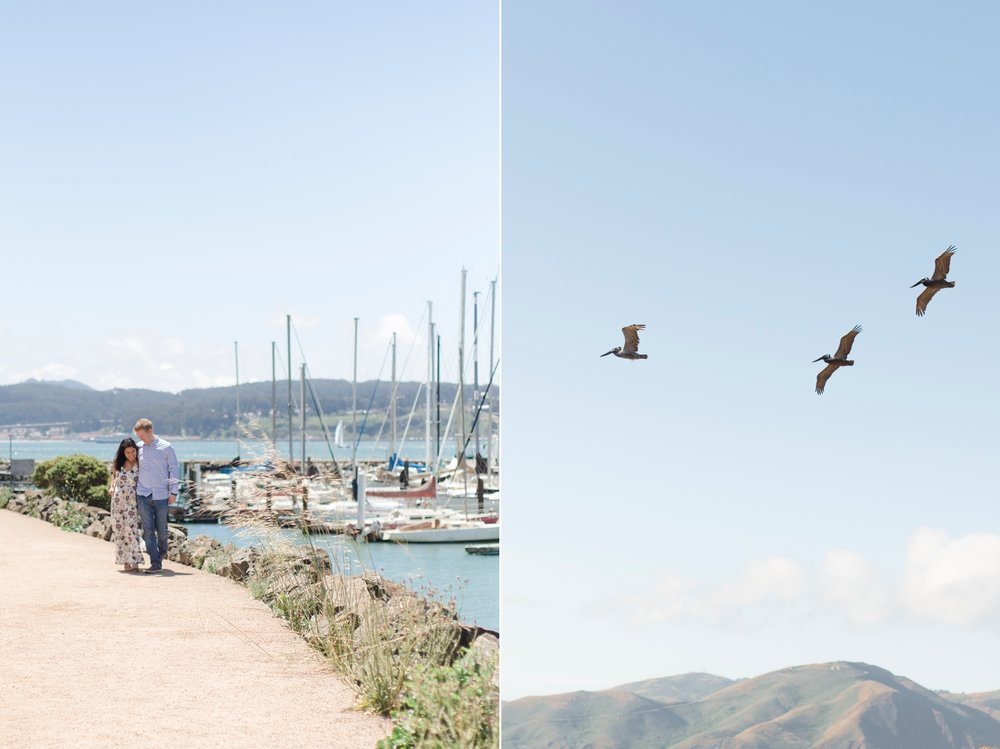 .Sausalito Engagement Photography