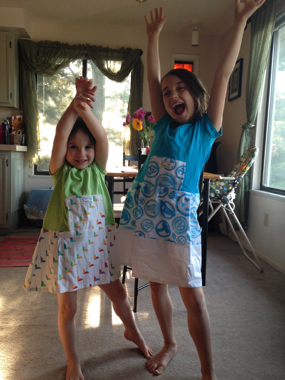 Mila and Anabel cheer.jpg