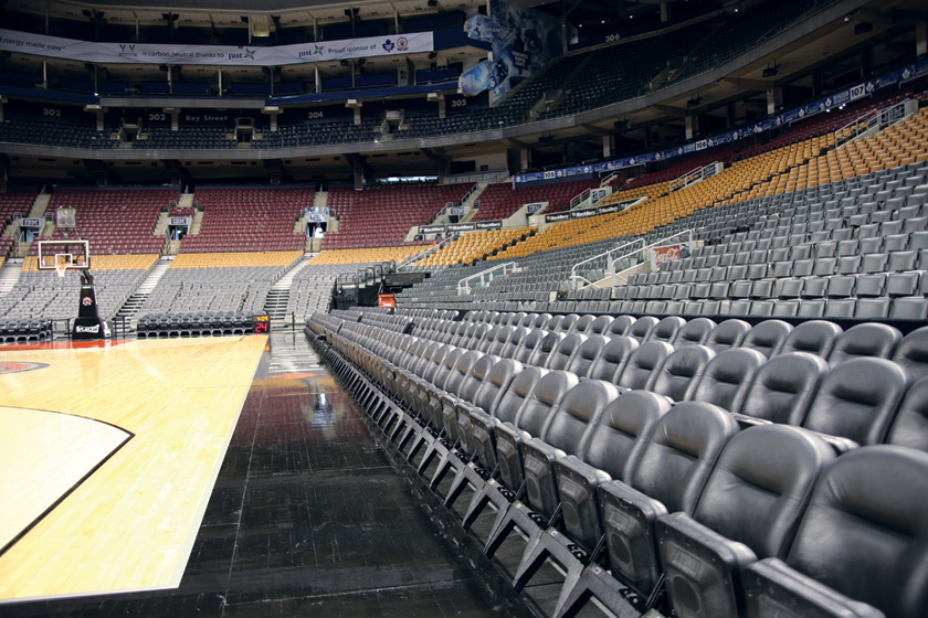 Clarin VIP Seating at Air Canada Center
