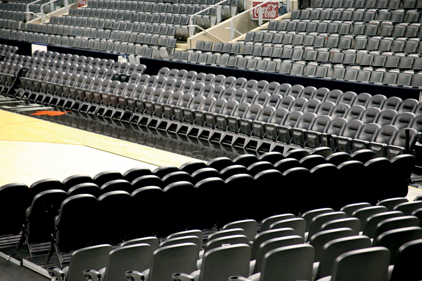 Professional stadium seating at Air Canada Center