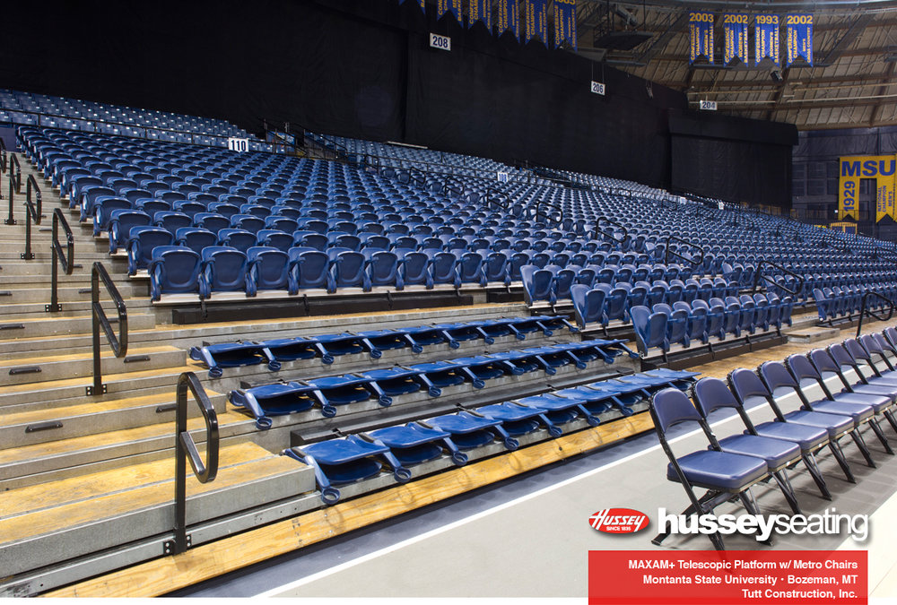 Metro Seats at Brick Breeden Fieldhouse