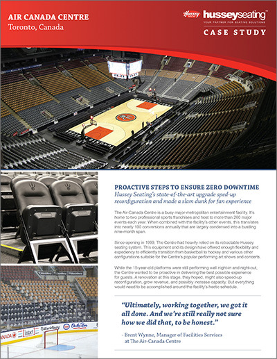 Air Canada Center Case Study