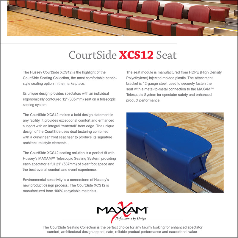 CourtSide XCS12