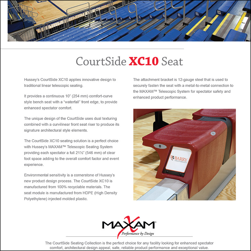 CourtSide XC10