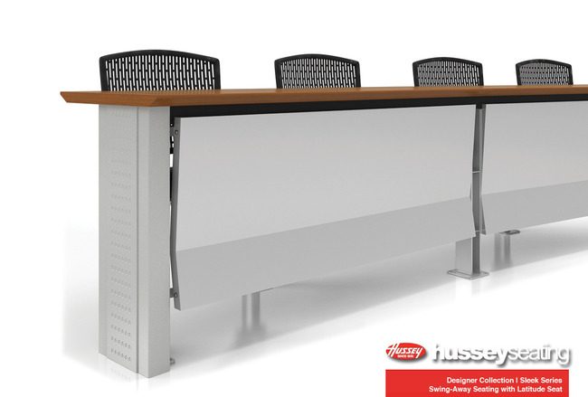 Sleek Series Fixed Lecture Room Table