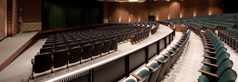 Prosper High School Hussey Seating Company
