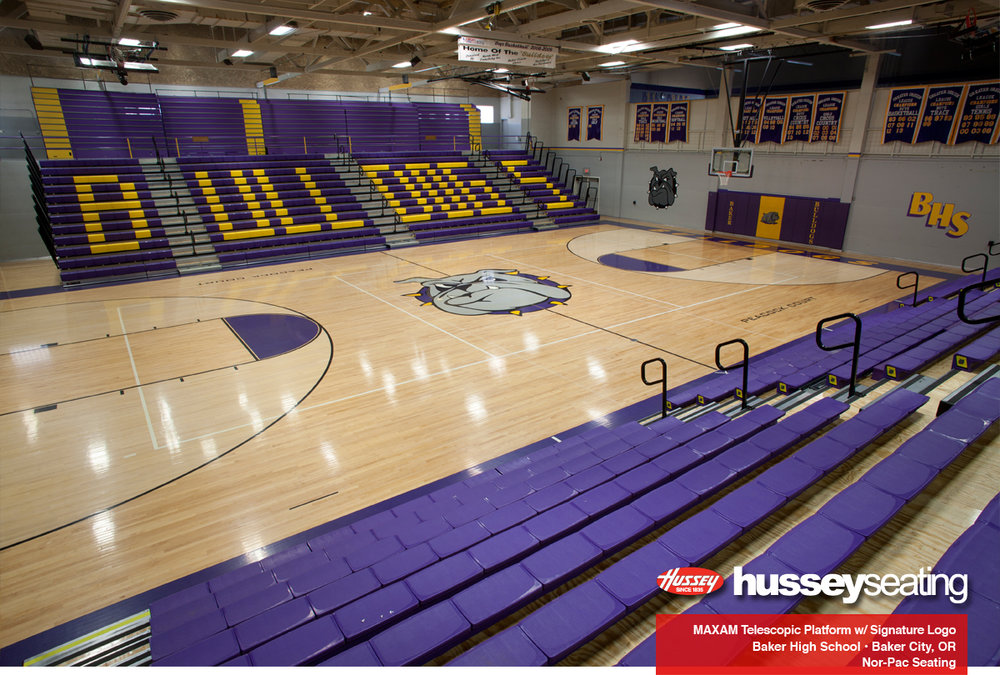Baker High School Hussey Seating Company