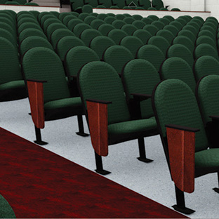 Quattro Traditional Auditorium Chairs