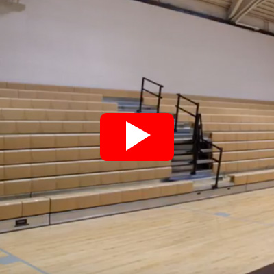 Power Glide Center Aisle Hand Rail - Strike