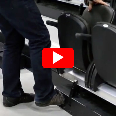 Metro Semi-Automatic Chair Operation - Strike