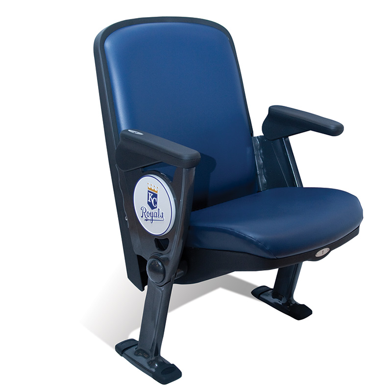 QUATTRO EXTREME  Stylish and durable, this seat combines the luxury of an upholstered indoor chair with the durability of an outdoor stadium seat. So it's easy to create a first-class suite in your open-air seating arena. That could be the ticket to creating a new revenue stream!
