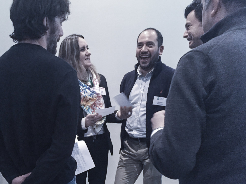 With Grupo Falabella in Santiago Chile