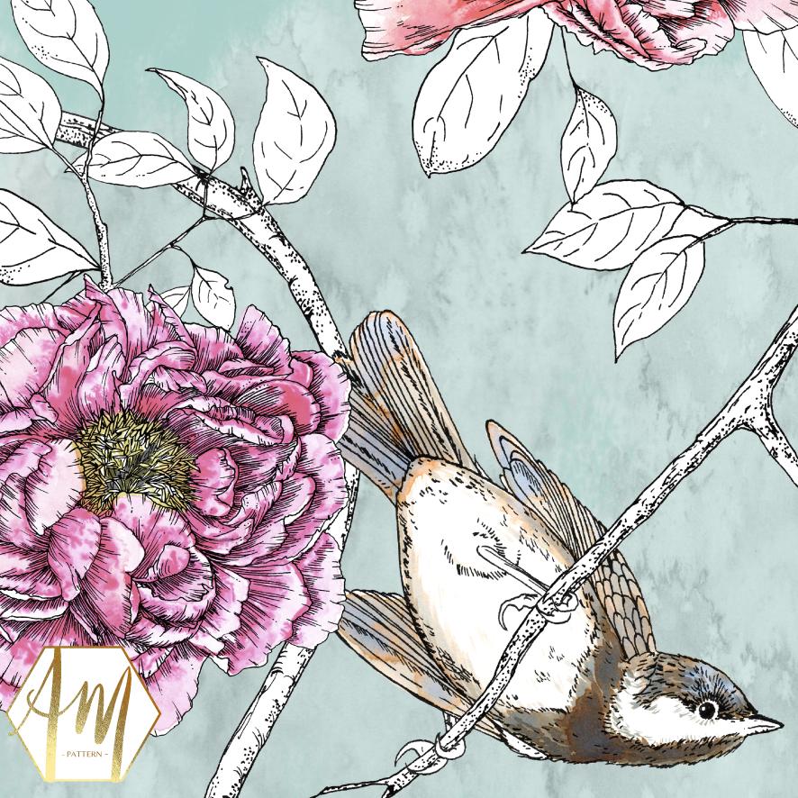 SONG BIRD CHINOISERIE