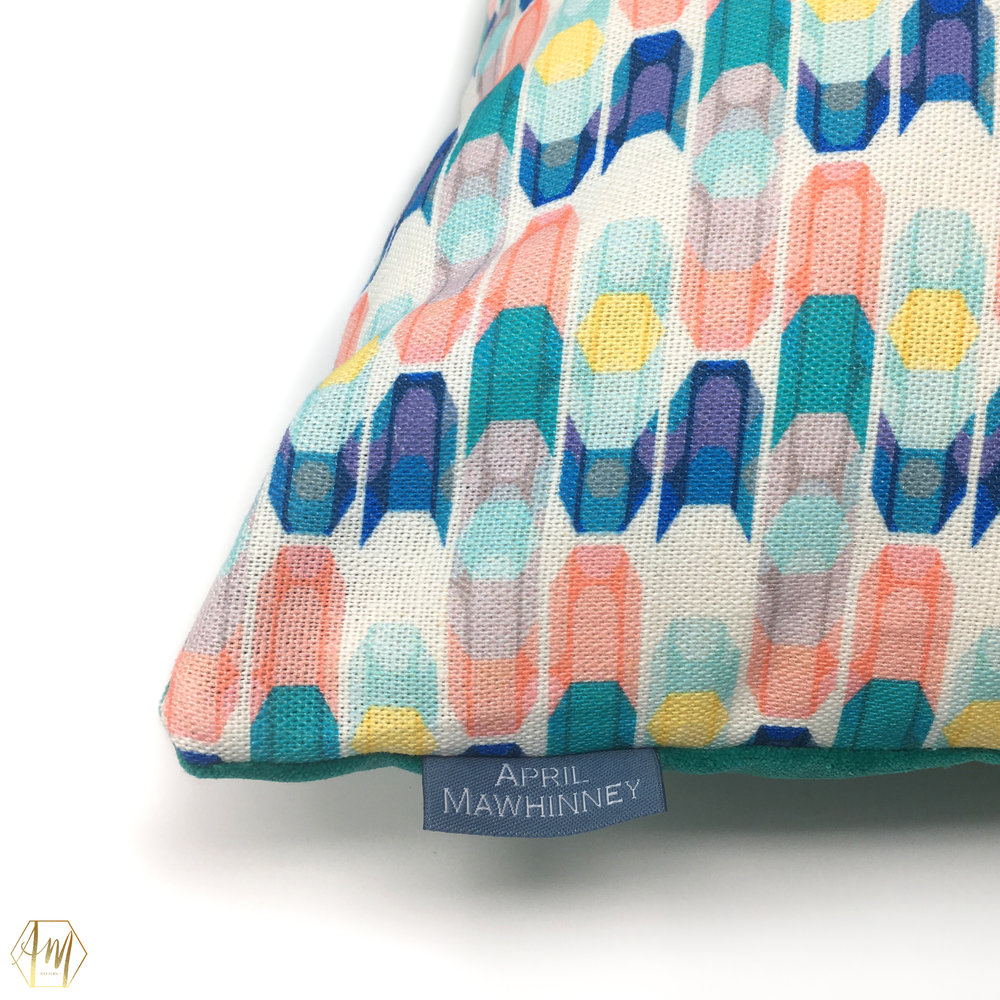 April Mawhinney Design Studio | New fabric Collection | Home Decor | Linen Fabric | UK Printed fabric | Upholstery fabric | Giftwares | Strangford Lough Inspiration