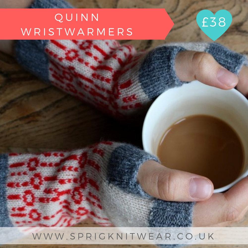 Quinn Wrist Warmers | Sprig Knitwear