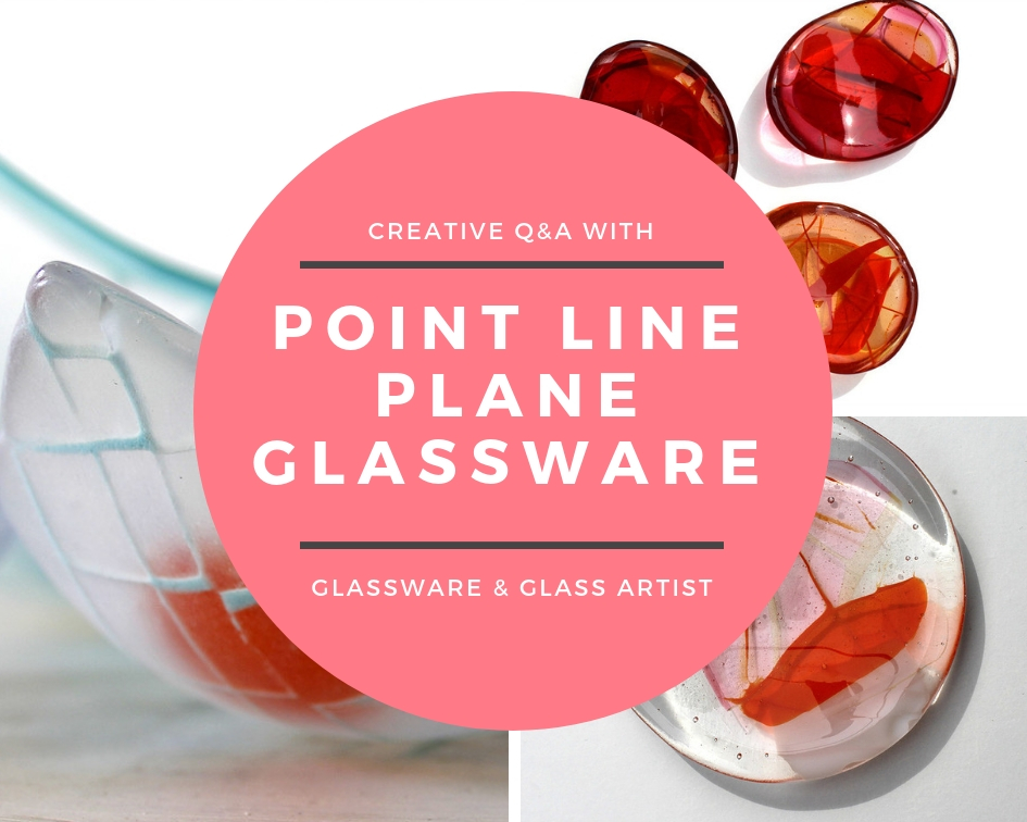 Point Line Plane Glassware | Alex Hoare | UK Based Glassware & Glass Artist.