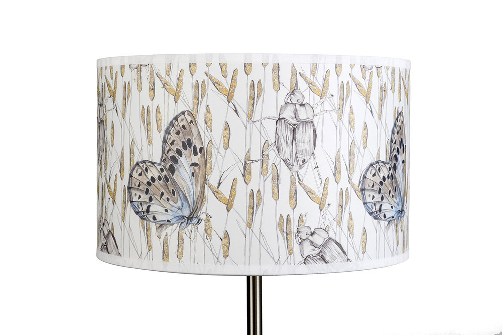 Rachel Reynolds | UK Designer Maker | Textile Designer | Fabric | Wallpaper | Lampshades
