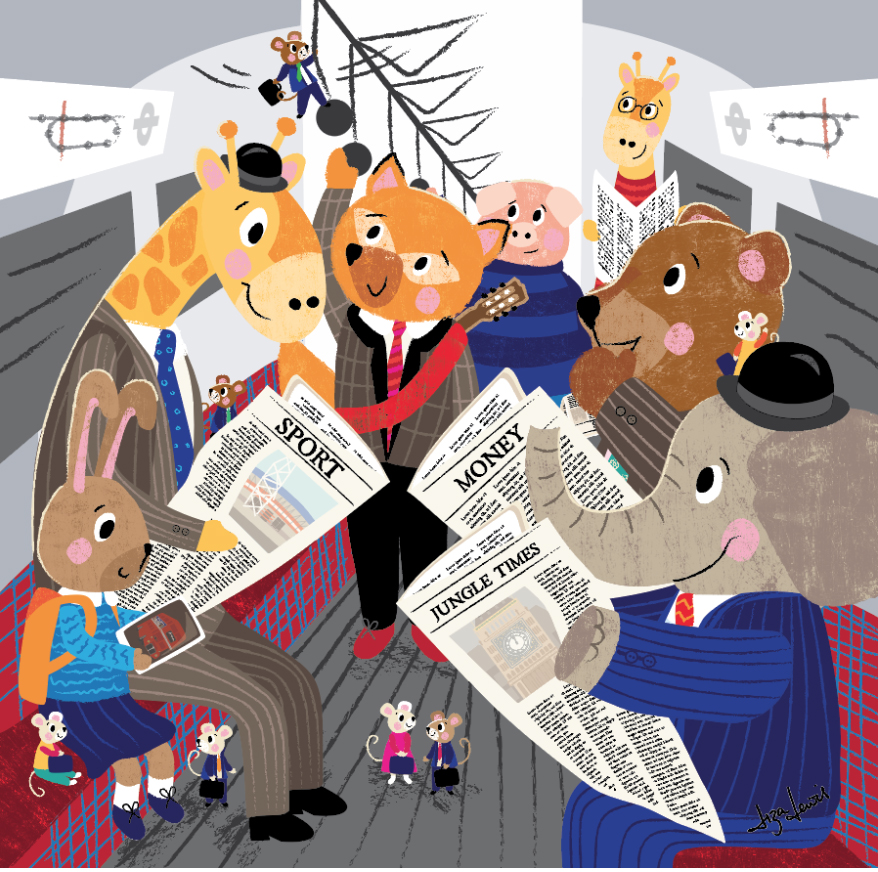 Liza Lewis | Children's Illustrator | UK Designer |