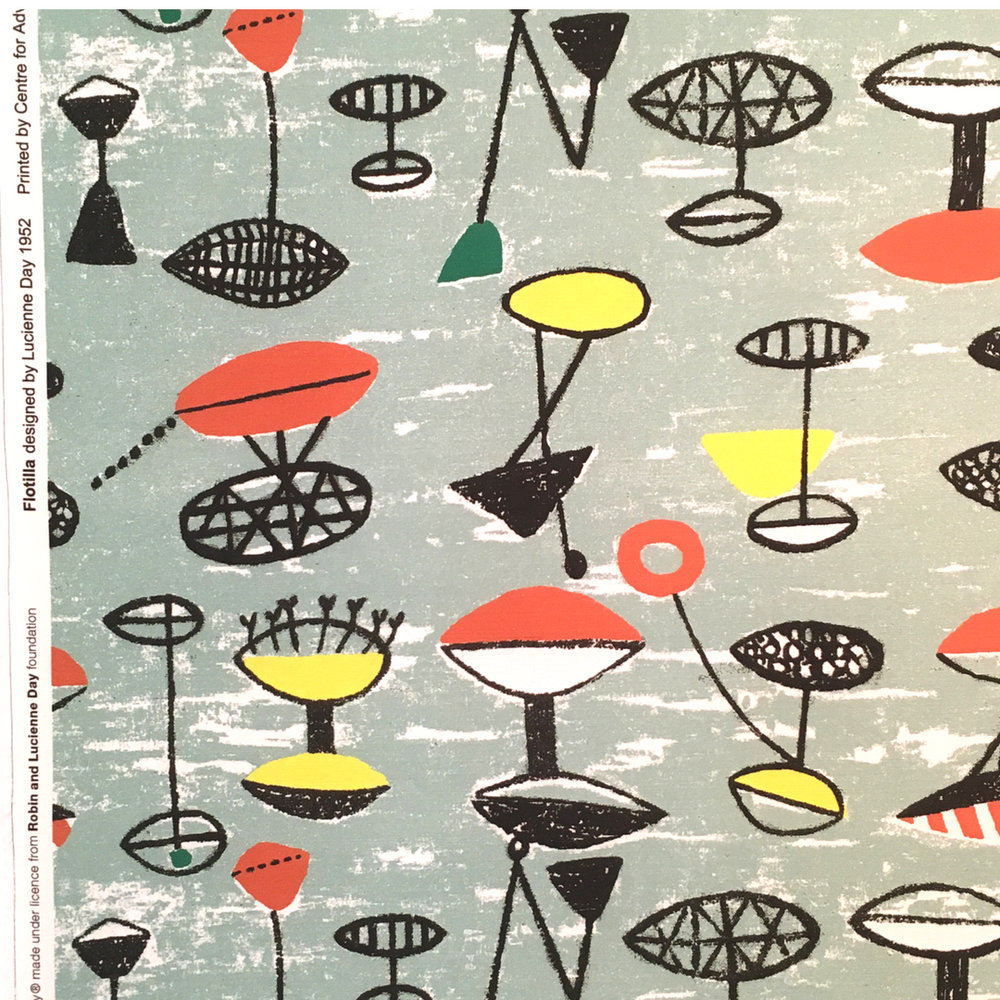 Lucienne Day | Exhibition | F. E. McWilliam Gallery and Studio | Textile Design | MidCenturyModern