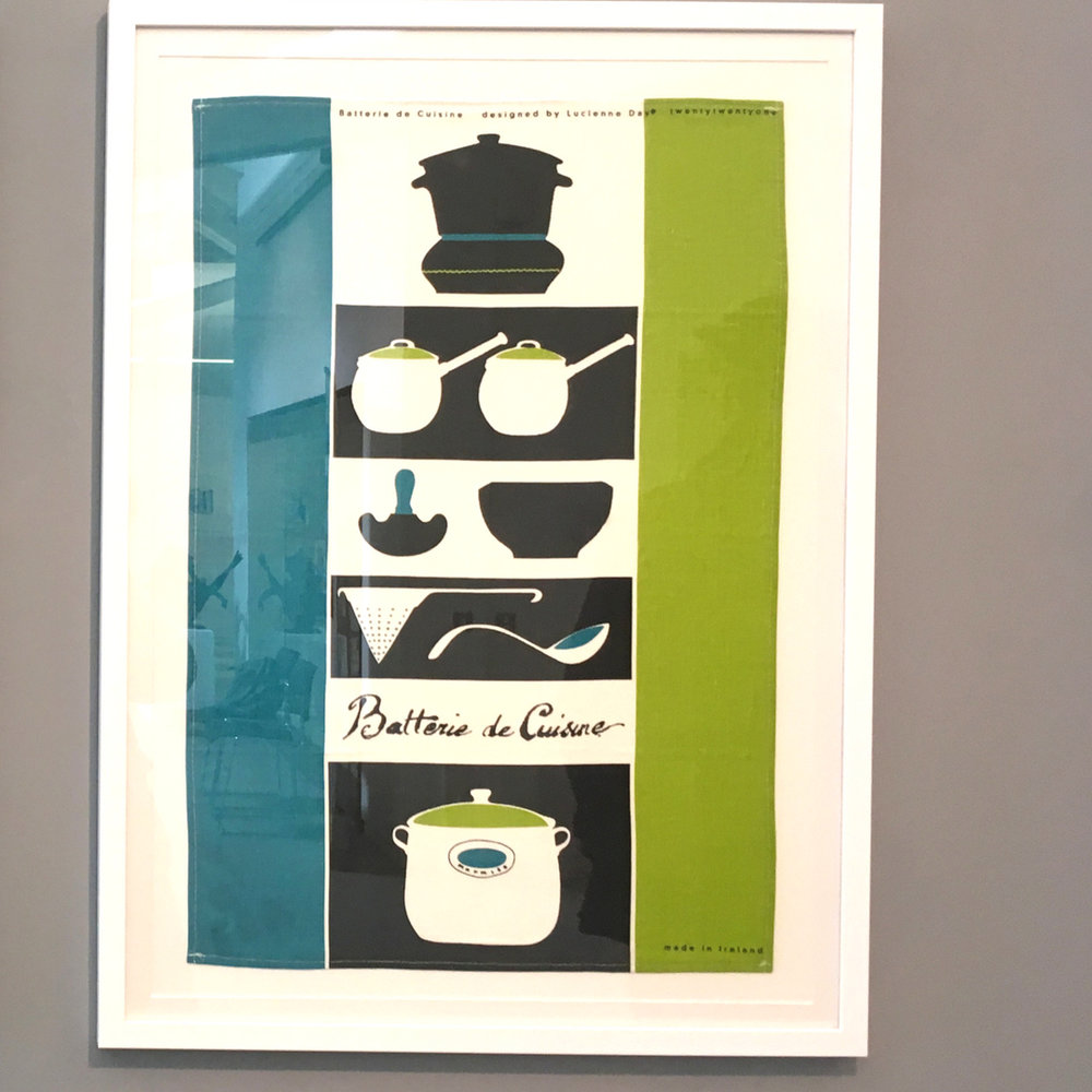 Lucienne Day | Tea Towel Design | Exhibition | F. E. McWilliam Gallery and Studio | Textile Design | MidCenturyModern