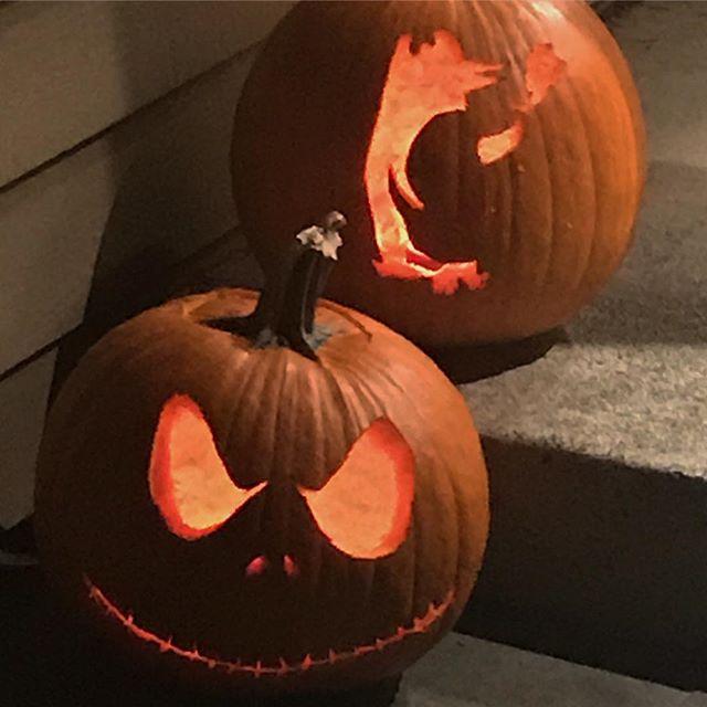 Ready for Halloween.  #pumkinlife #smokingpenguin #jackskellington