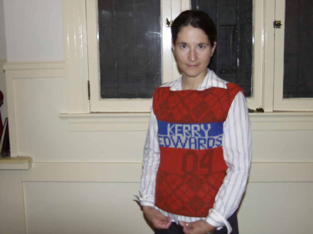 Kerry Edwards 04 vest, 2004