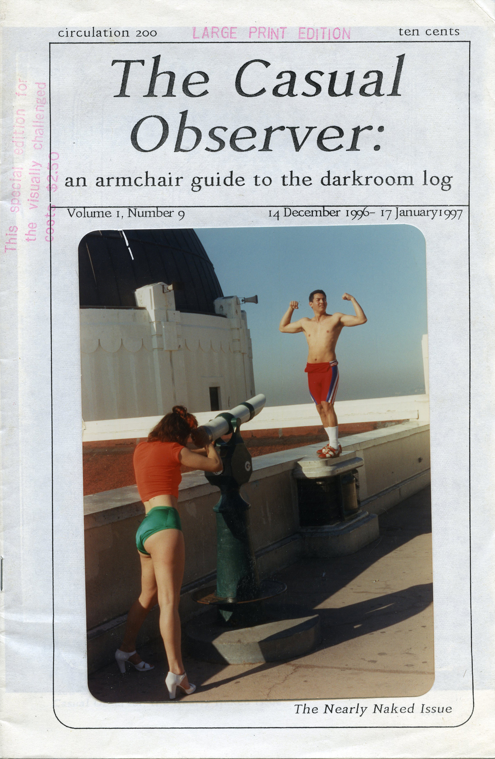 The Casual Observer, 1996-1997