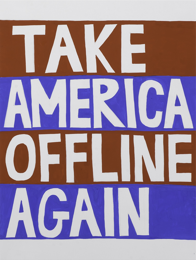 Take America Offline Again