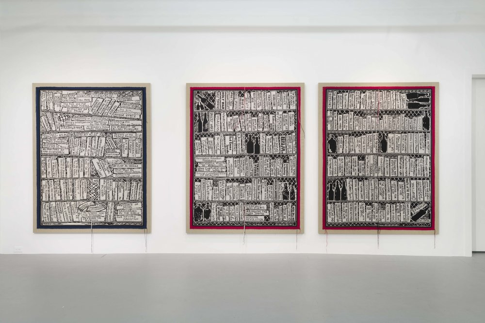 """""""Libraries"""" at Gavlak, Los Angeles, 2019"""