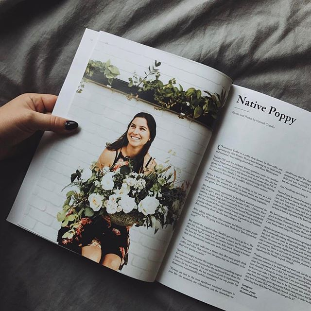 We are all 😍for this feature on @native_poppy by photographer, @hannah.costello !  We're so honored to have featured Natalie in our very first and most recent volumes so make sure to check them out! (Link in bio👆🏼👆🏼👆🏼).