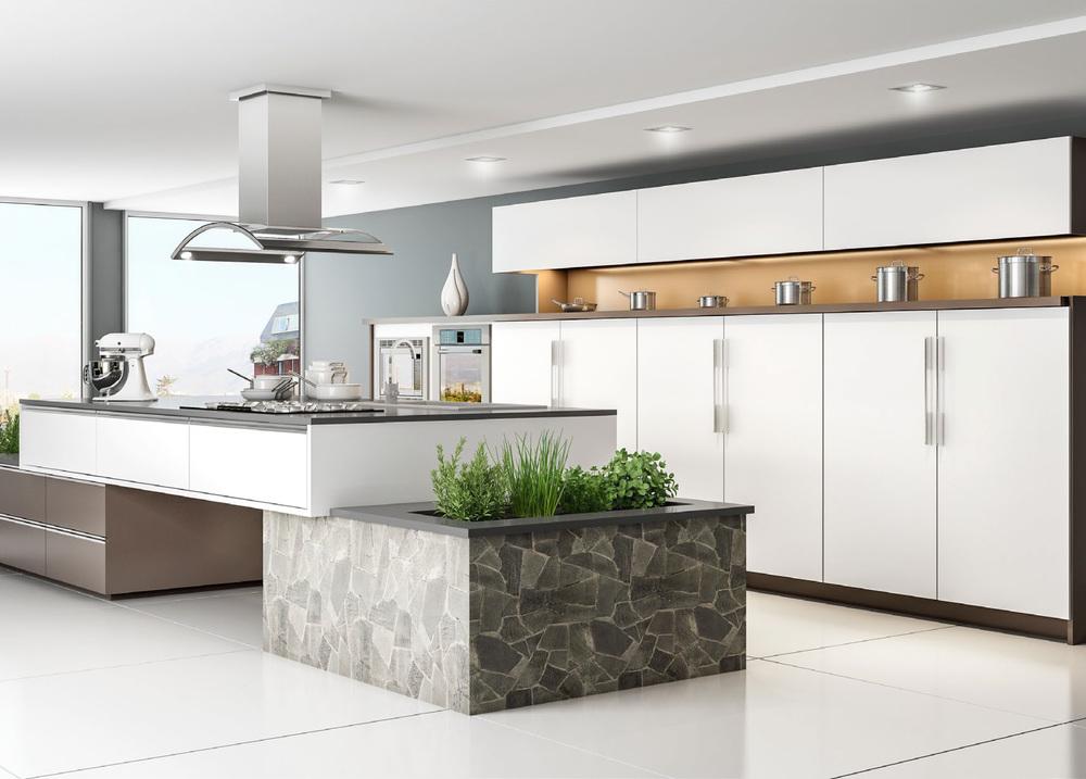 CGI Kitchen Scene Application Photography