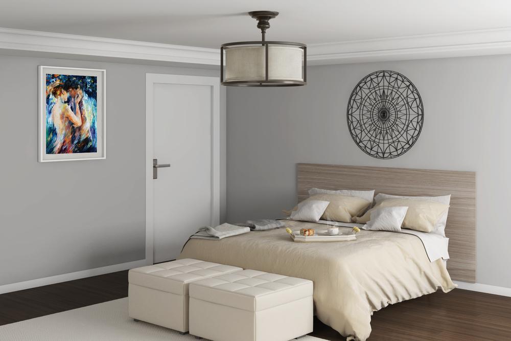 CGI Bedroom Scene Photography