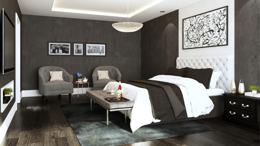 CGI Bedroom Image Photography