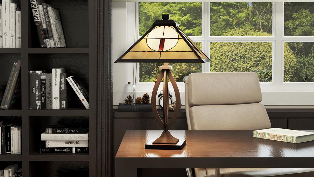 CGI Office Lamp Studio Photography
