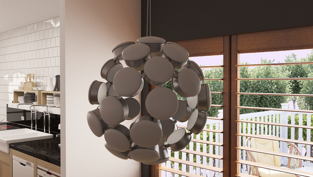 CGI Chandelier Product Photography