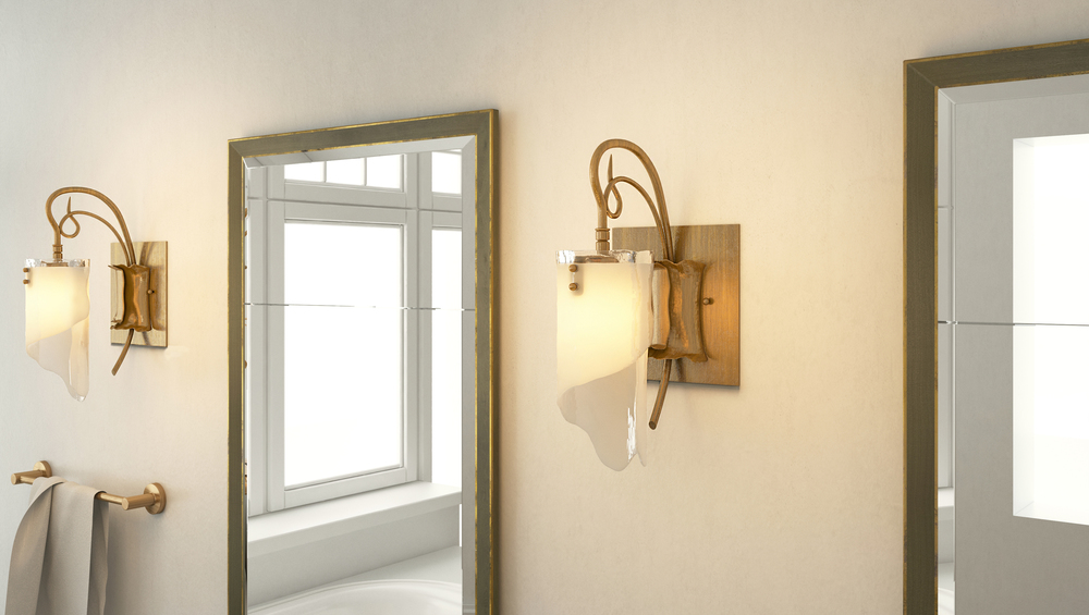 CGI Wall Sconce Product Photography