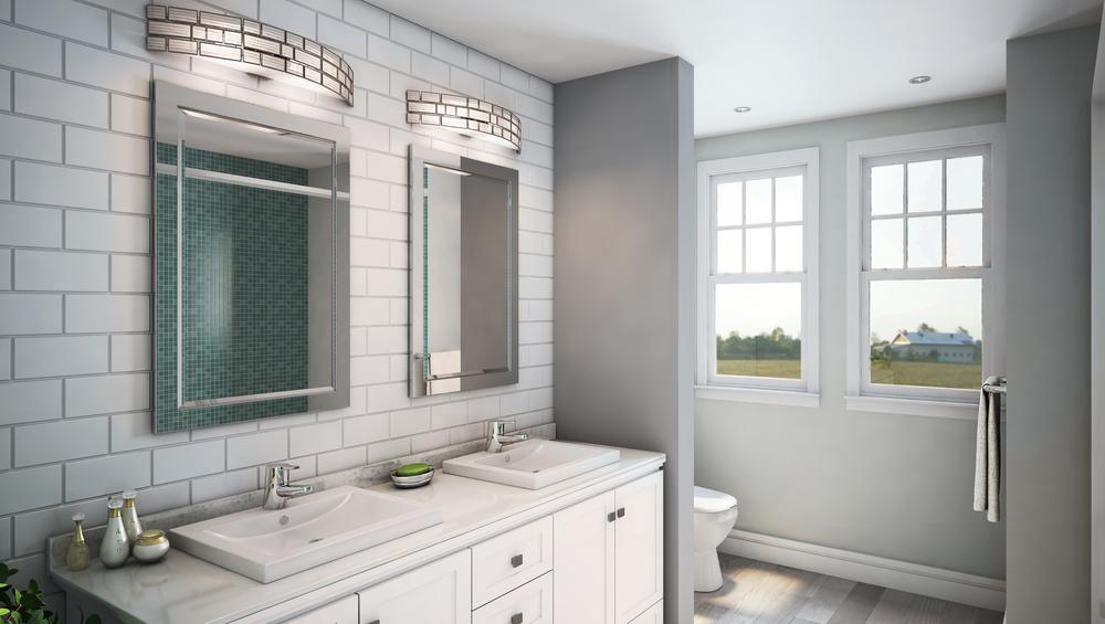 CGI Bathroom Scene Application Photography