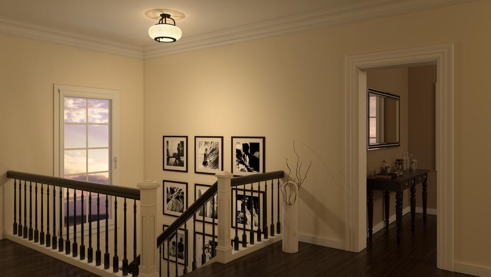 CGI Foyer Light Scene Photography