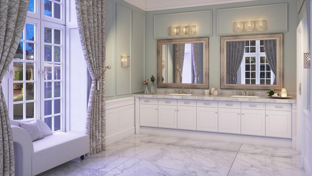 CGI Bathroom Scene Photography
