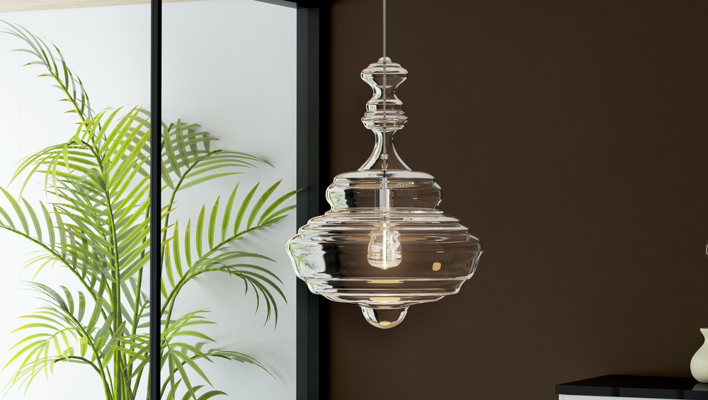 CGI Pendant Product Application Photography
