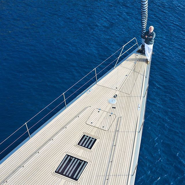 Wally Yachts -  Luca Bassani Antivari I travelled to Monaco to set sail on one of the most stylish yachts in production and photograph its builder, Luca Bassani Antivari, for McLaren magazine