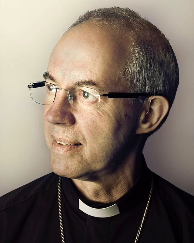 I travelled to Coventry Cathedral earlier this month to photograph The Archbishop of Canterbury, Justin Welby, for the Guardian. He was ordained in Coventry in 1992. We spoke about the royal wedding and his excitement for the day.
